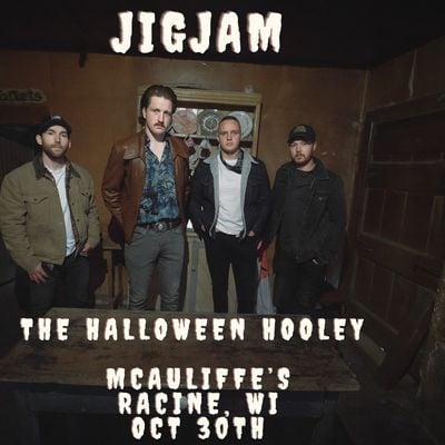JigJam Halloween Hooley in McAuliffes Pub Racine WI