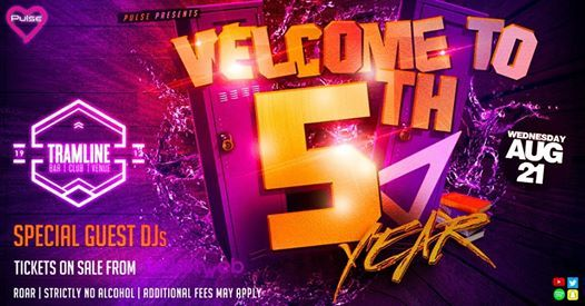 Pulse presents Welcome to 5th Year Party - Click Going to Win