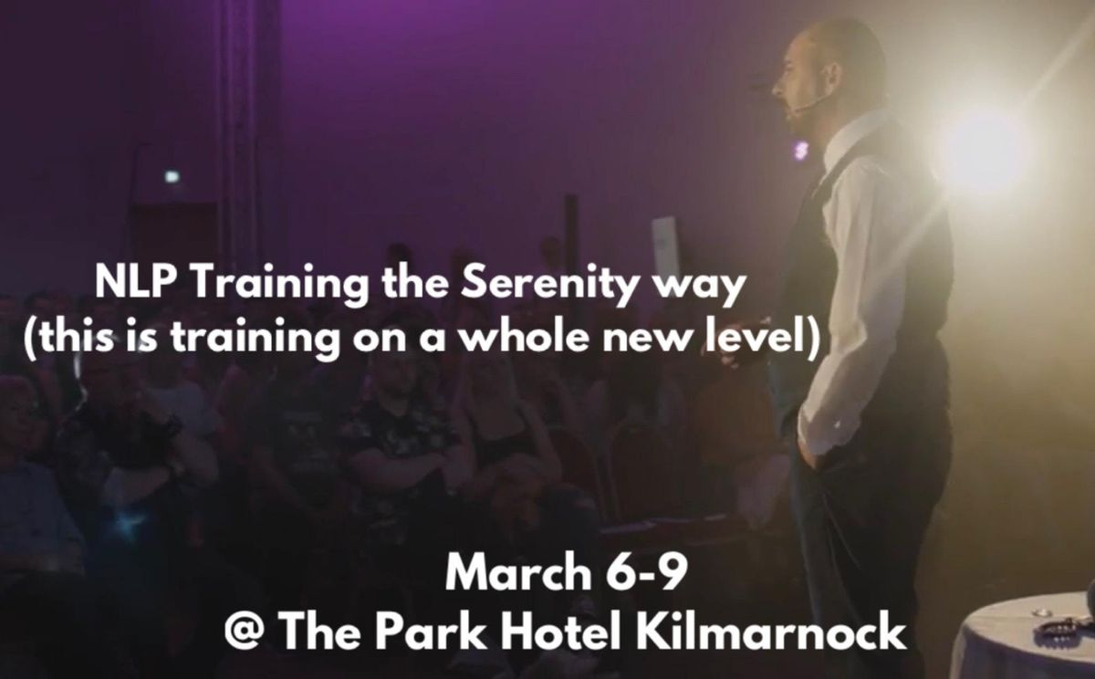 NLP Training The Serenity By Kevin way.