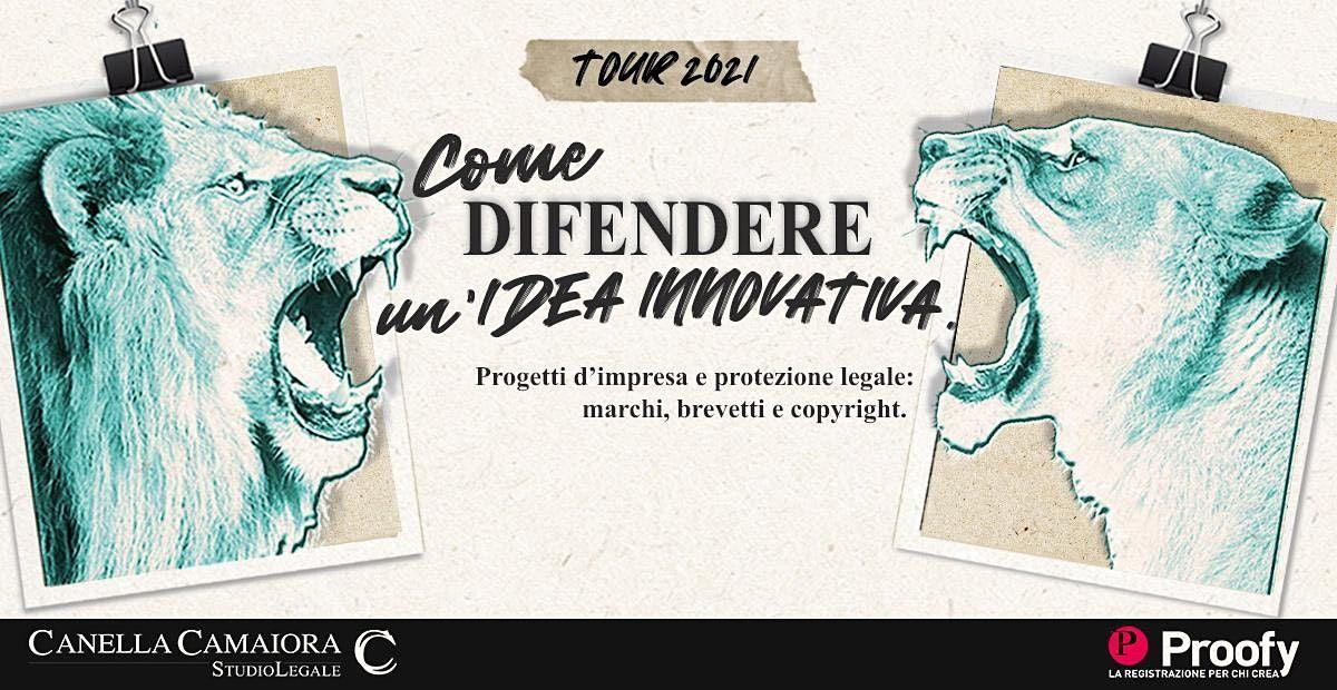 Come difendere un'idea innovativa® Tour 2021 – Torino, 10 June | Event in Torino | AllEvents.in