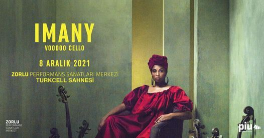 Imany - Voodoo Cello, 8 December | Event in Istanbul | AllEvents.in