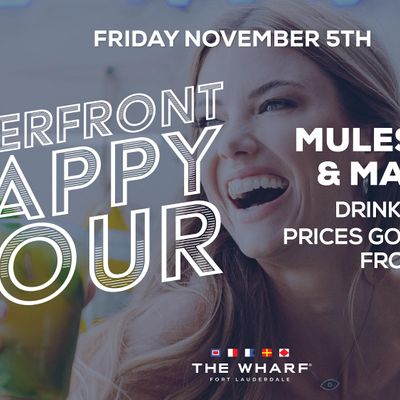 Riverfront Happy Hour at The Wharf FTL