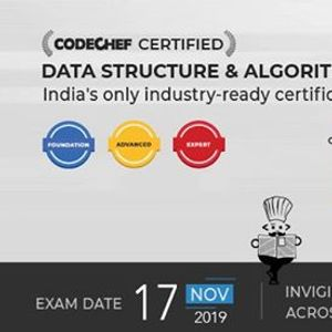 Certification Exam in Data Structure and Algorithms
