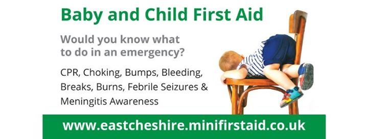 Leek Baby & Child First Aid for parentsgrandparentscarers