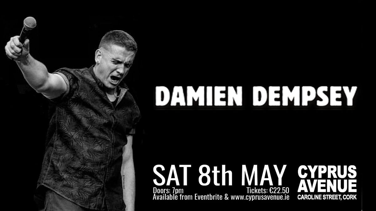 Damien Dempsey, 8 May | Event in Cork | AllEvents.in