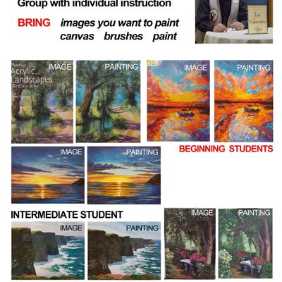 Acrylic Painting For All Levels with Joe Yakovetic