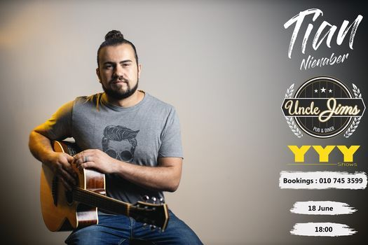 Tian Nienaber Live at Uncle Jims's, 18 June | Event in Roodepoort | AllEvents.in