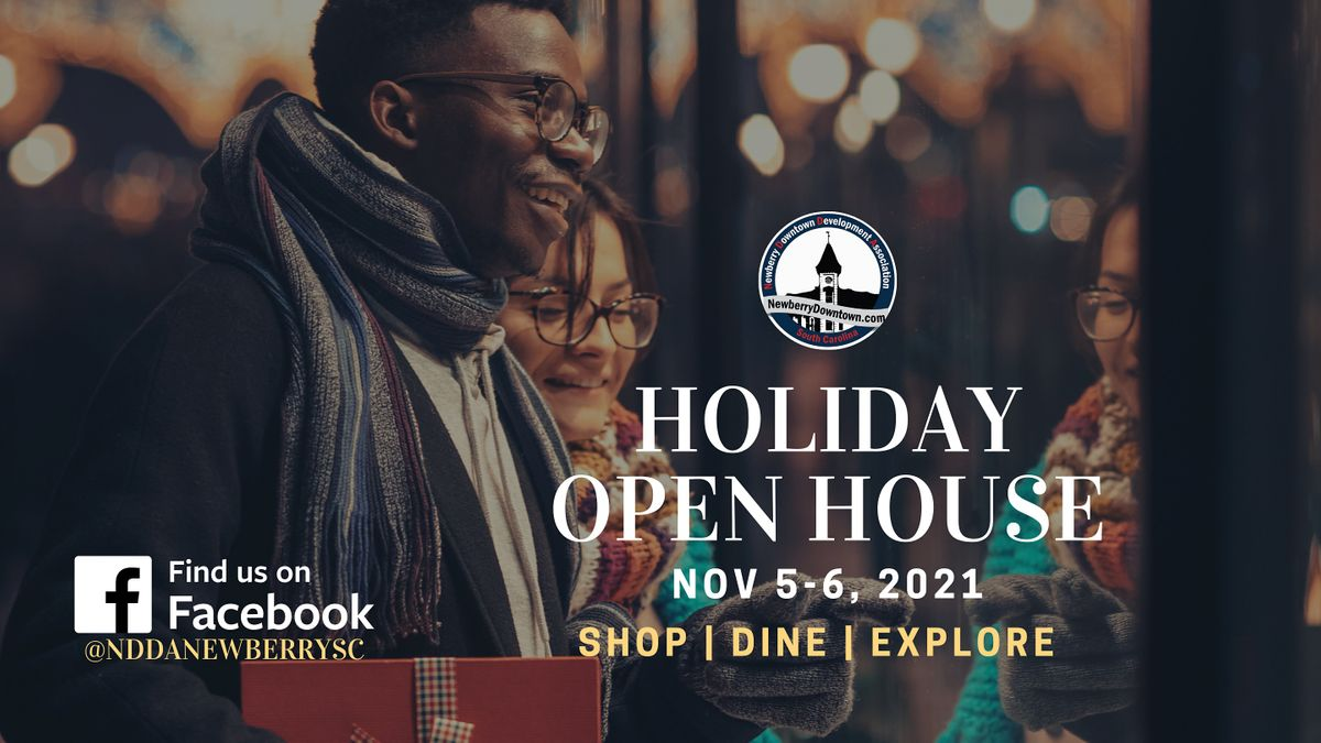 Fall Holiday Open House, 5 November   Event in Newberry   AllEvents.in