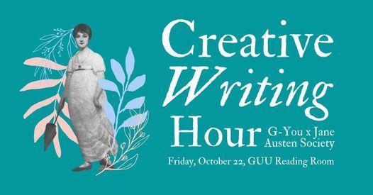 G-You x Jane Austen: Creative Writing Workshop | Event in Glasgow | AllEvents.in