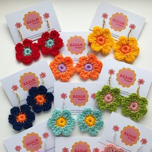 Realm Designs: Crochet Earring Workshop / Saturday