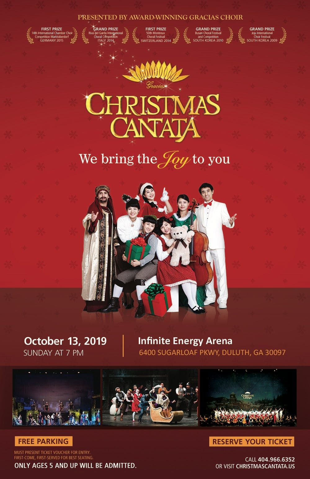 Christmas Cantata 2019 New Orleans.2019 Gracias Christmas Cantata Us Tour Atlanta At Infinite
