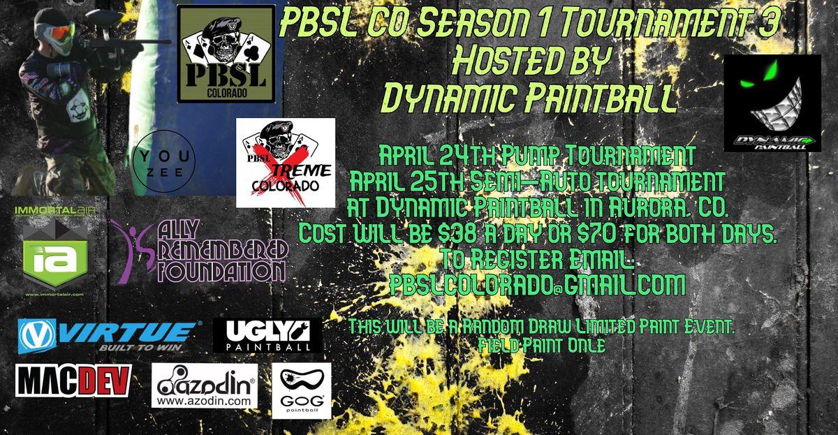 PBSL Colorado Season 1 Event 3, 3 April | Event in Aurora | AllEvents.in