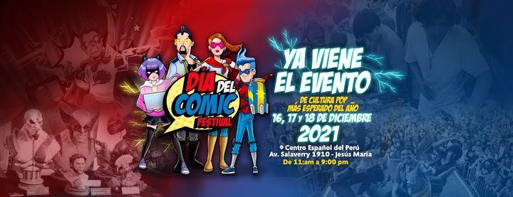 Día del Cómic Festival 2021, 16 December   Event in Rimac   AllEvents.in