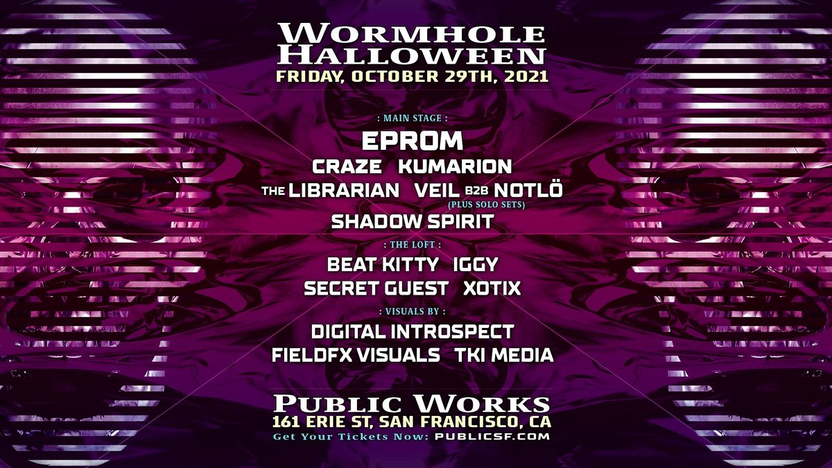 Wormhole Halloween, 29 October   Event in San Francisco   AllEvents.in