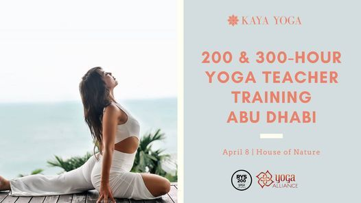 200 & 300-Hour Yoga Teacher Training - Abu Dhabi, 20 May | Event in Al Ain | AllEvents.in
