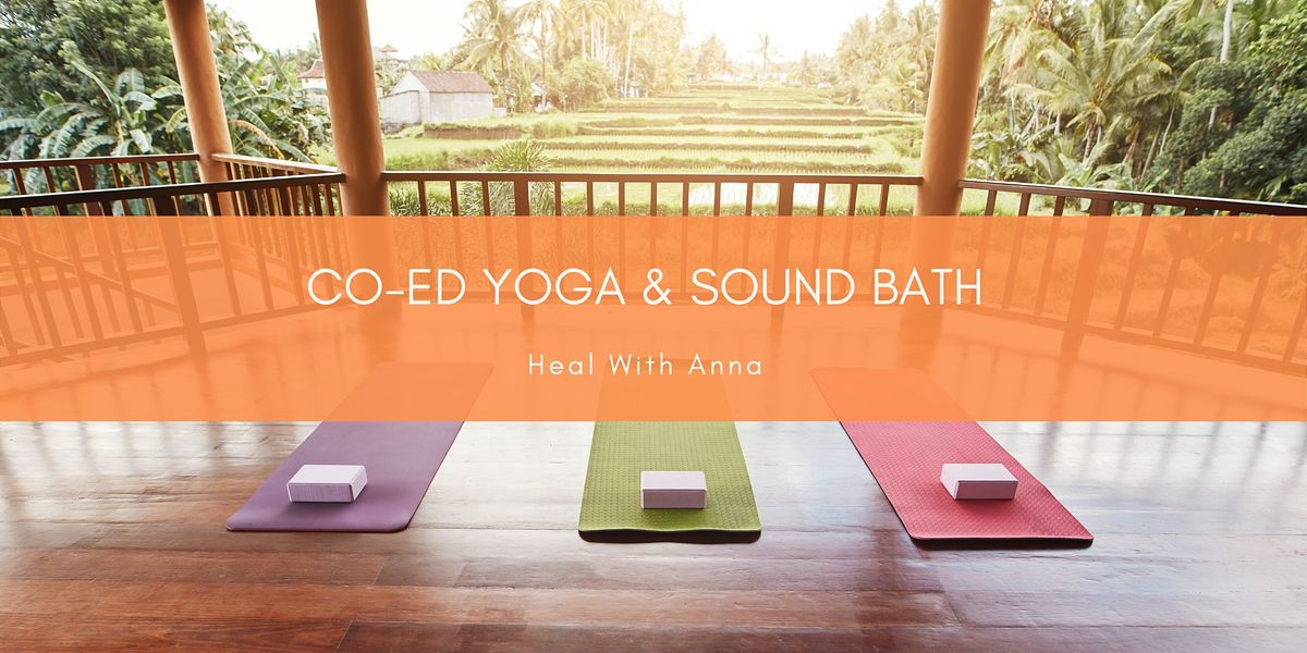 Co-ed Yoga & Sound Bath ONLINE | Online Event | AllEvents.in