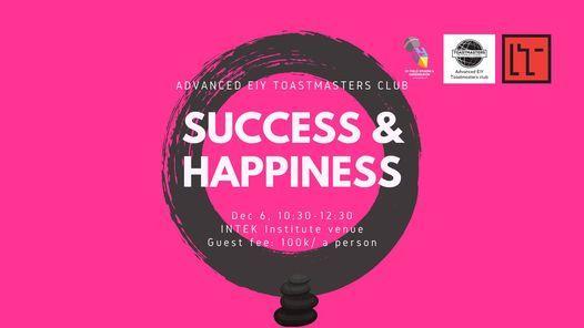 Success & Happiness: advanced EIY TM club meeting ...