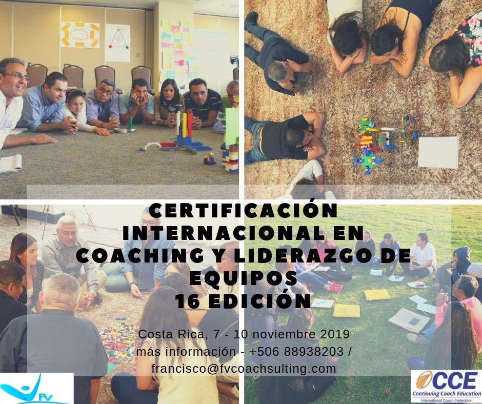 CERTIFICACIN INTERNACIONAL EN COACHING Y LIDERAZGO DE EQUIPOS - CCE