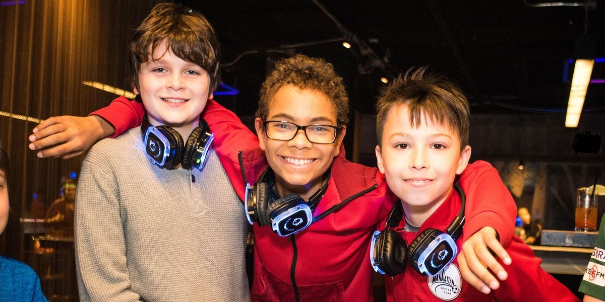 Kids Silent Disco and Parents Bottomless Brunch Party (First 100 RSVPs FREE)