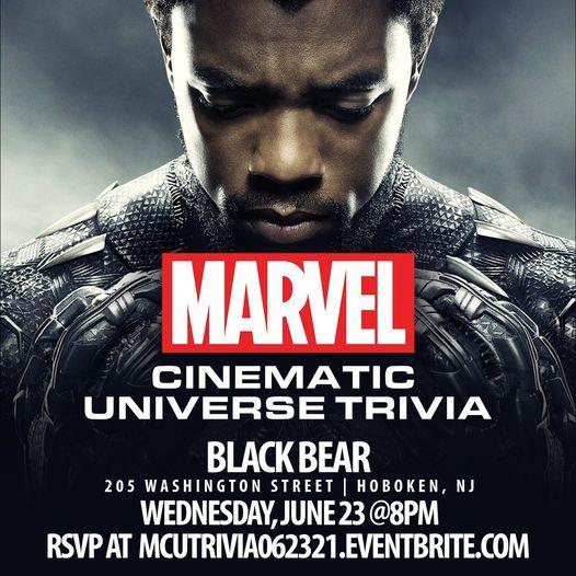 Marvel Cinematic Universe Trivia, 23 June   Event in Hoboken   AllEvents.in