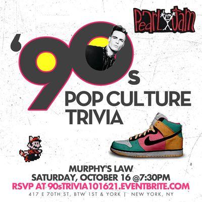 90s Pop Culture Trivia