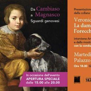 Presentazione libroVeronica Spinola Serra e apertura mostra