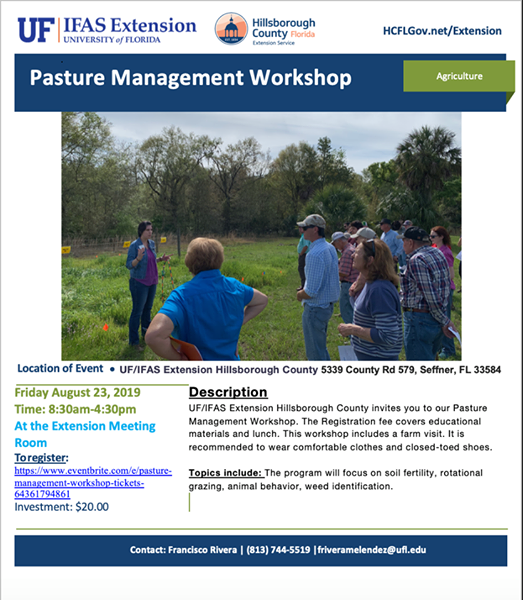 Pasture Management Workshop
