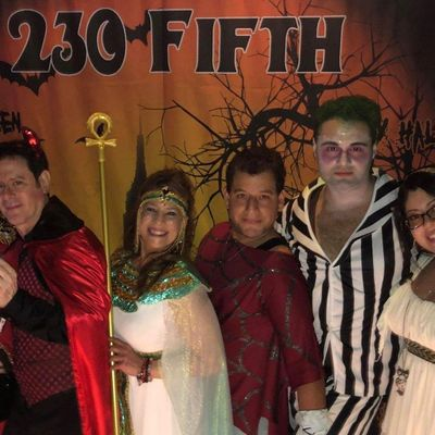Andy Troys Annual Halloween Bash at 230 Fifth Free Admission
