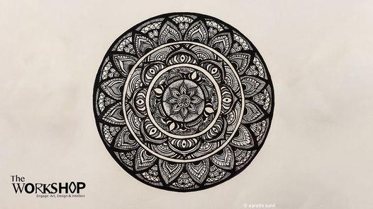 Online Workshop Mandala Drawing