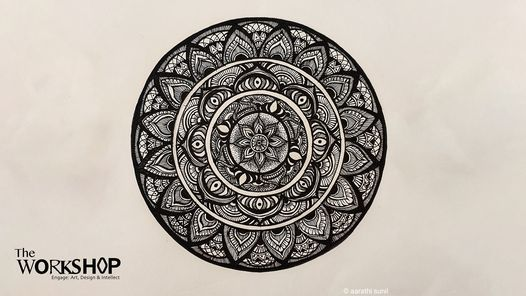 Online Workshop Mandala Drawing