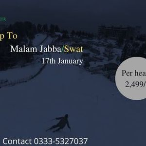 1 Day Trip to Malam Jabba  Swat Valley