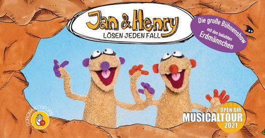 Jan & Henry - Die große Bühnenshow - Open Air Musicaltour 2021, 1 August   Event in Potsdam   AllEvents.in