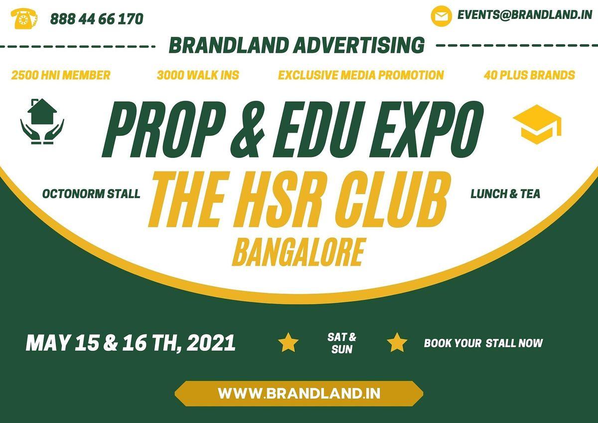 prop & Edu expo   Event in Bengaluru   AllEvents.in