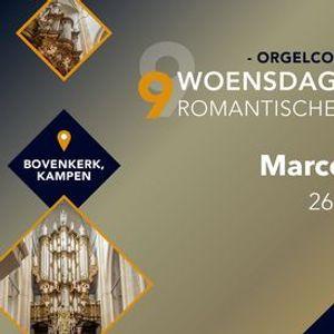 Marco den Toom in concert - Bovenkerk Kampen
