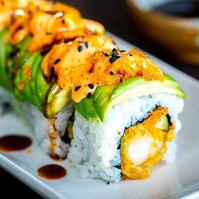 UBS - Virtual Cooking Class Tempura Shrimp Dragon Roll with Chef Daijiro