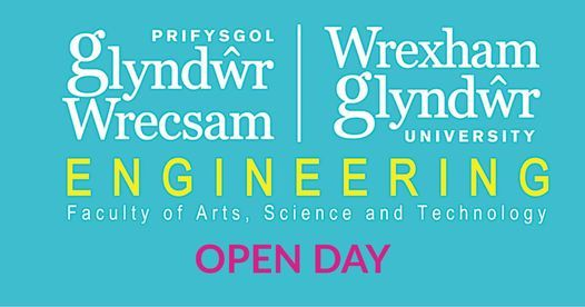 Wrexham Glyndwr University Open Day