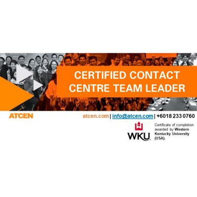 Certified Contact Center Team Leader