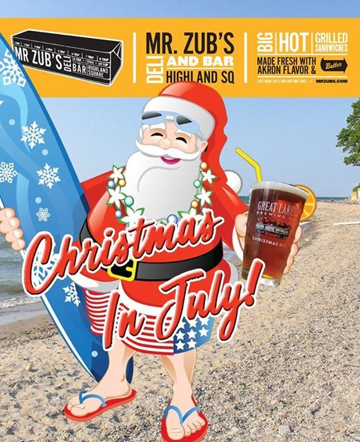 Christmas In July At Zubs Akron
