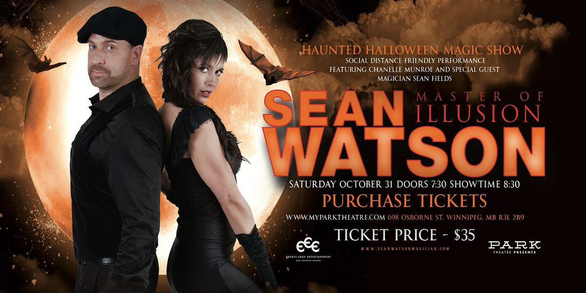 Sean Watson - Haunted Halloween Magic Show, 20 February | Event in Winnipeg | AllEvents.in