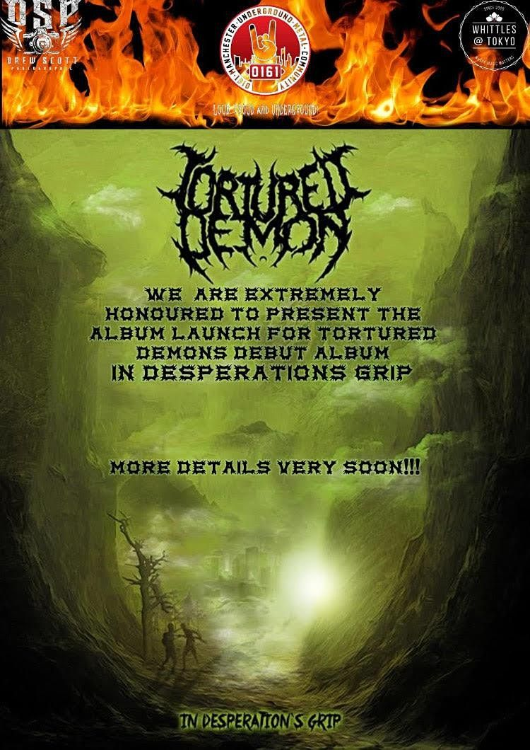 0161 Presents: Tortured Demon Album Launch, 6 February | Event in Oldham | AllEvents.in