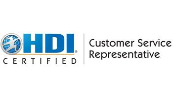 HDI Customer Service Representative 2 Days Training in Detroit, MI