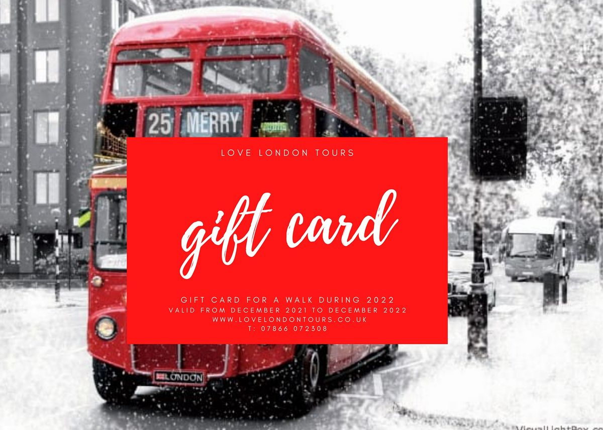 WALKING TOUR GIFT VOUCHER FOR 2021 | Event in London | AllEvents.in