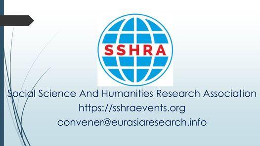 7th Dubai – International Conference on Social Science & Humanities (ICSSH), 21-22 February 2021, 21 February