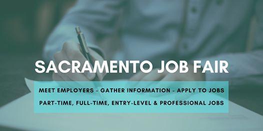Sacramento Job Fair - June 22 2020 - Career Fair
