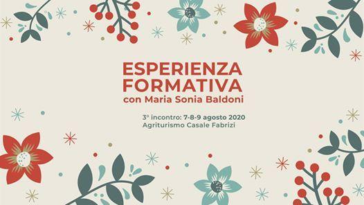Esperienza formativa con Maria Sonia Baldoni