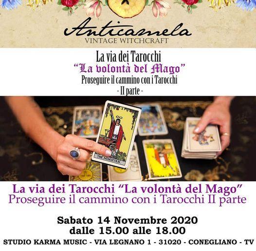 La Via dei Tarocchi - Seconda Parte, 14 November | Event in Conegliano | AllEvents.in