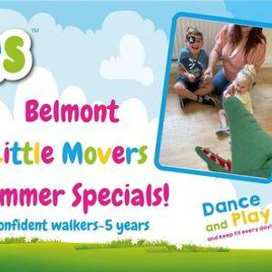 Little Movers SUMMER SPECIALS- Belmont