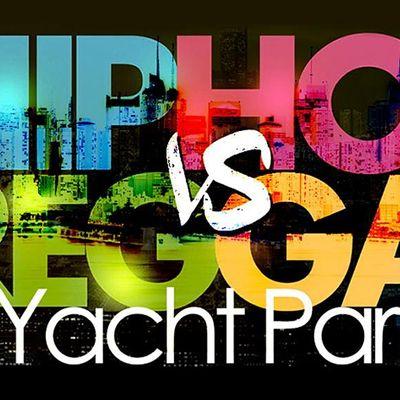 Summer Sunset NYC Hip Hop vs Reggae Cruise Skyport Marina Cabana Yacht