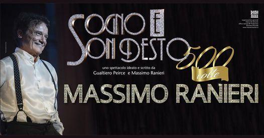 Massimo Ranieri | Concerto Sospeso, data in via di definizione, 31 January | Event in Florence | AllEvents.in