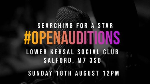 Talent Show - Open auditions at Salford Winter Festival, Salford